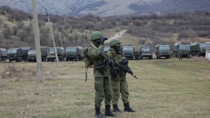 Россия стягивает войска в Крым: у Зеленского назвали две причины