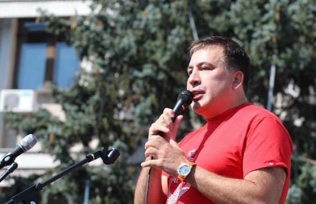 """""""Я ваш сусід Вова, зараз паркан переставлю"""": Саакашвілі про бажання Путіна"""
