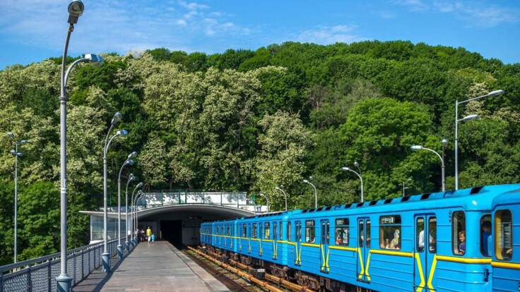 В открытом метро Киева проводят дезинфекцию: появились подробности
