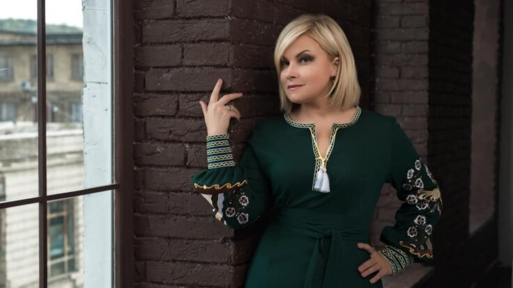 """Певица Мария Бурмака: """"Вышиванка — это не просто красивый орнамент"""""""