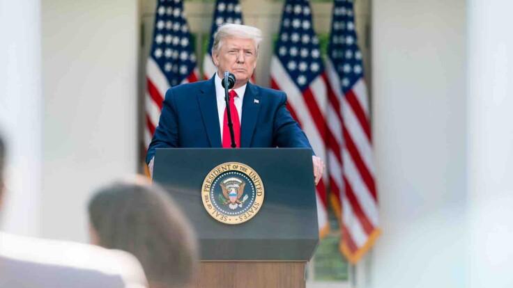 На кону не лише пост президента: журналістка про заяви Трампа щодо виборів