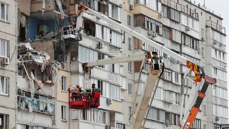 Нет гарантии, что не упадет – спасатель о взорванном доме на Позняках