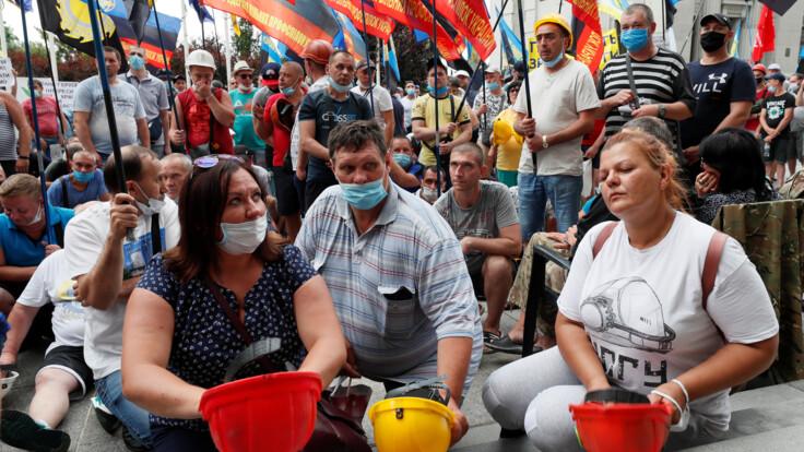 """""""Не тільки виплата зарплат"""": шахтарі-страйкарі озвучили вимоги"""