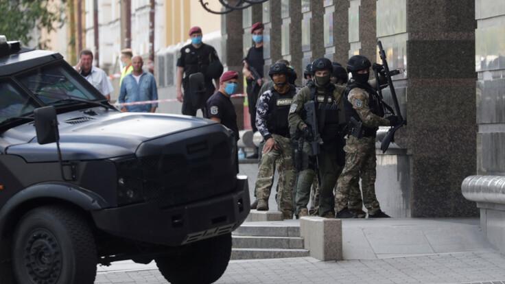 Затримання нападника банку в Києві: в СБУ повідомили подробиці