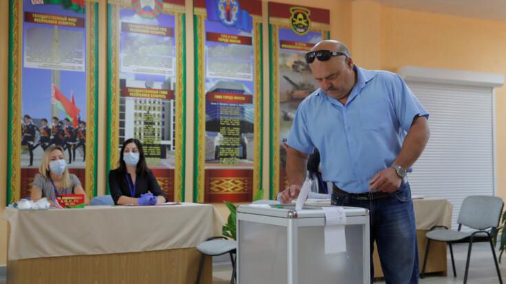 Выборы президента Беларуси: как голосуют в Киеве