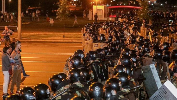 Столкновения после выборов в Беларуси: все подробности онлайн