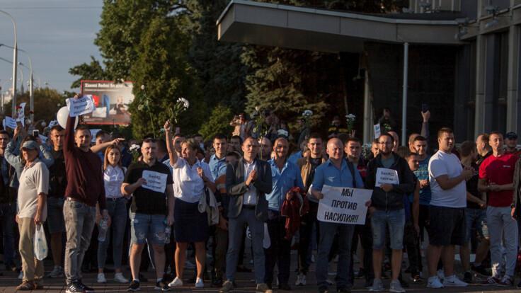 Україна ініціювала в ПАРЄ декларацію щодо протестів у Білорусі: подробиці