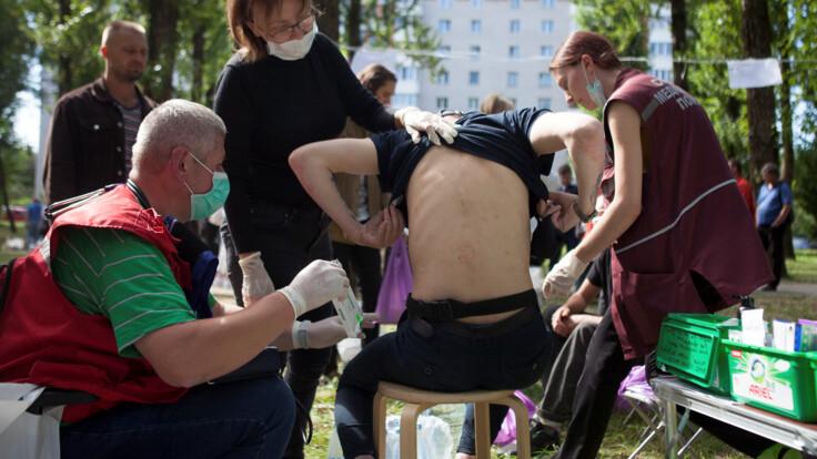 Ломают кости, раскраивают черепа - блогер о задержанных на протестах в Беларуси