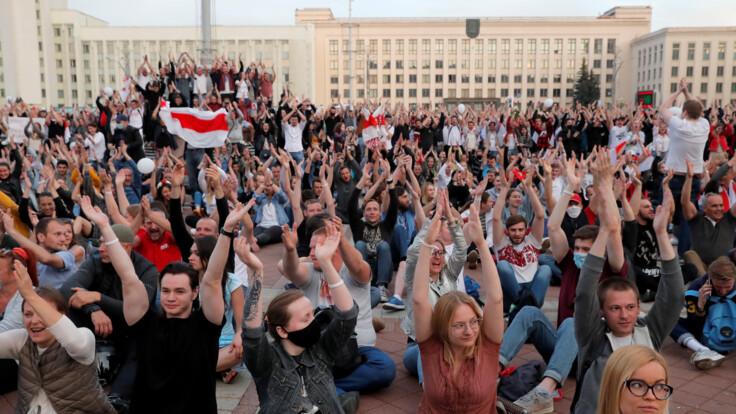 """Протести в Білорусі: телеканал """"Україна 24"""" проводить великий марафон"""