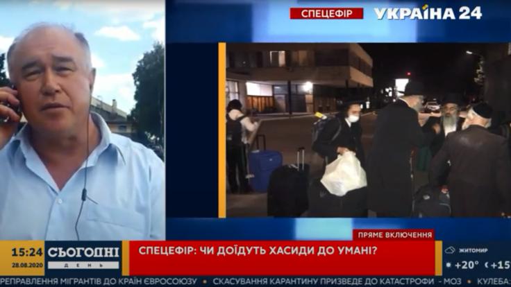 Десятки хасидов застряли в аэропорту Запорожья: озвучены подробности