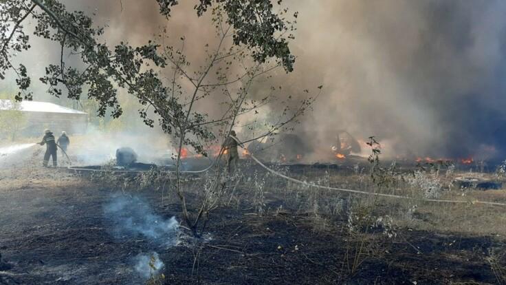 Это очень странно — глава Харьковской ОГА о масштабных пожарах