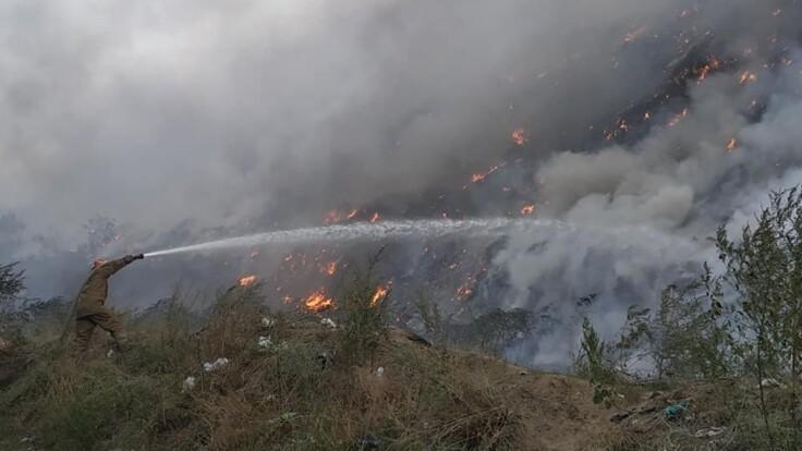 Это политическая борьба — секретарь горсовета о масштабном пожаре под Полтавой