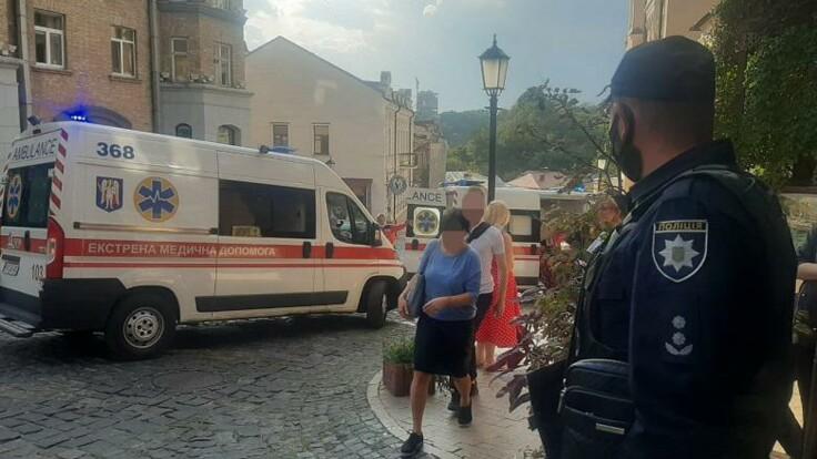 """""""Людям обожгло лицо и спину"""": новые подробности взрыва в центре Киева"""
