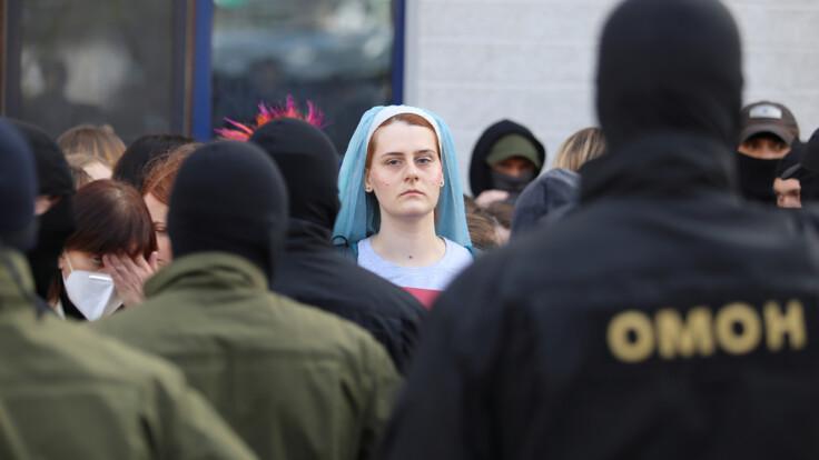 Будут синяки — беременная белоруска о задержании во время протестов
