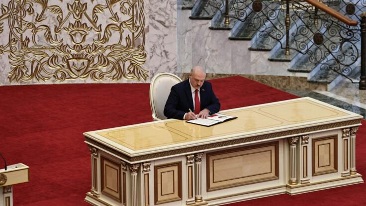 Инаугурация Лукашенко: оппозиция в Беларуси ответила флешмобом