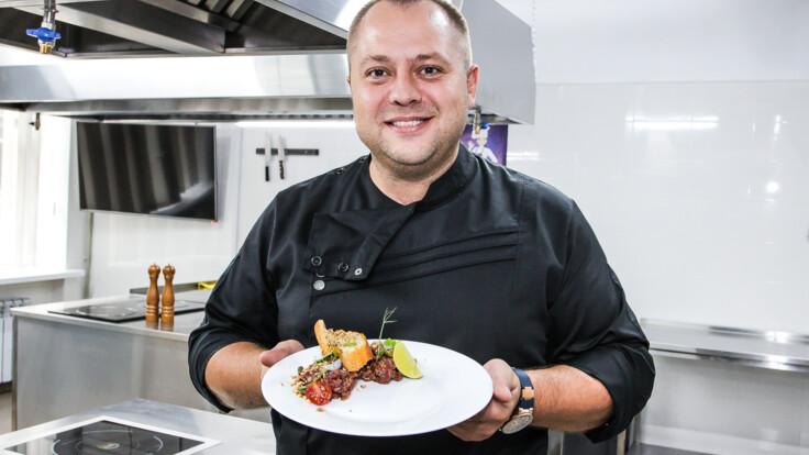 Известный шеф-повар дал мастер-класс в Константиновке