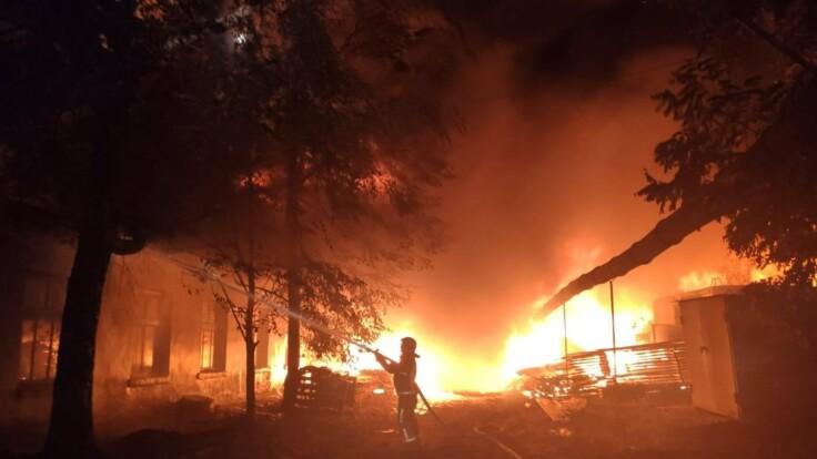 Аваков о масштабных пожарах на Луганщине: есть признаки поджогов