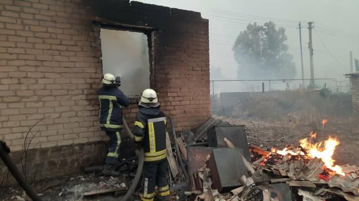 Масштабные пожары на Луганщине: число жертв возросло