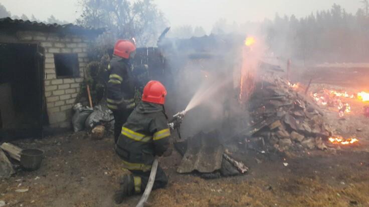Сапер рассказал, сколько мин могут уничтожить пожары на Луганщине