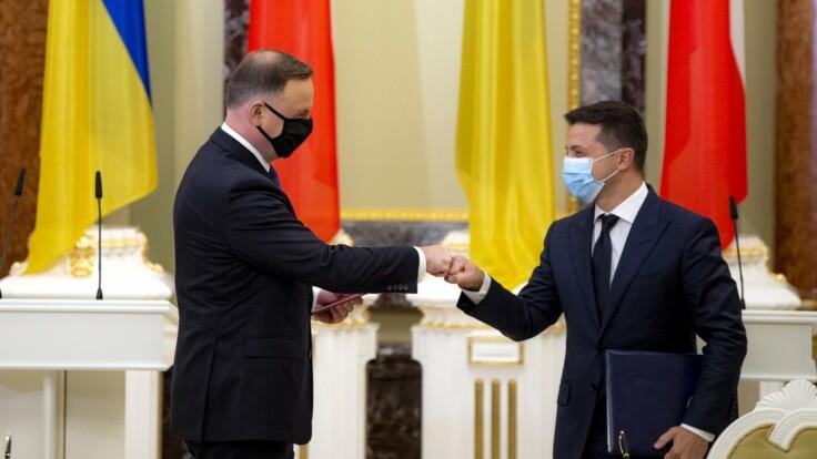 """Встреча Зеленского и Дуды - эксперт рассказал о """"сигнале для Украины"""""""