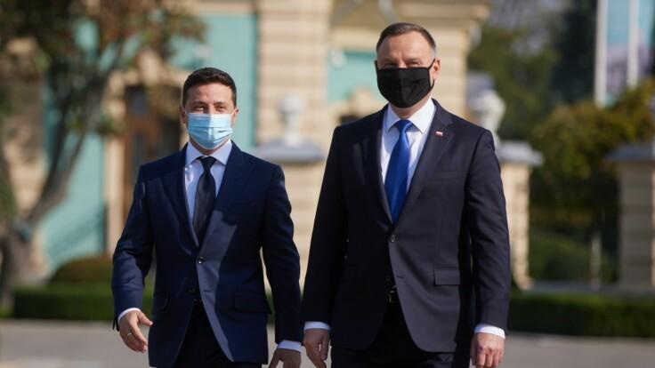 """""""Украина 24"""" покажет эксклюзивное интервью с президентами Зеленским и Дудой"""