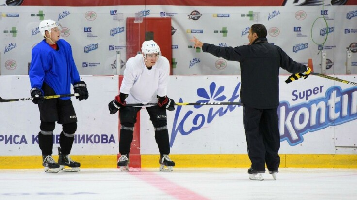 Хоккейная лига стартует на новой украинской ледовой арене