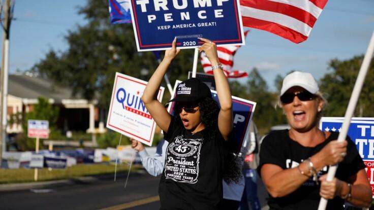 Возможен наихудший сценарий - политолог о выборах в США