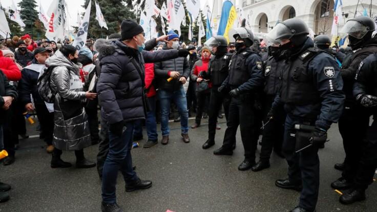На Майдане установили палатки: новые подробности протестов в центре Киева