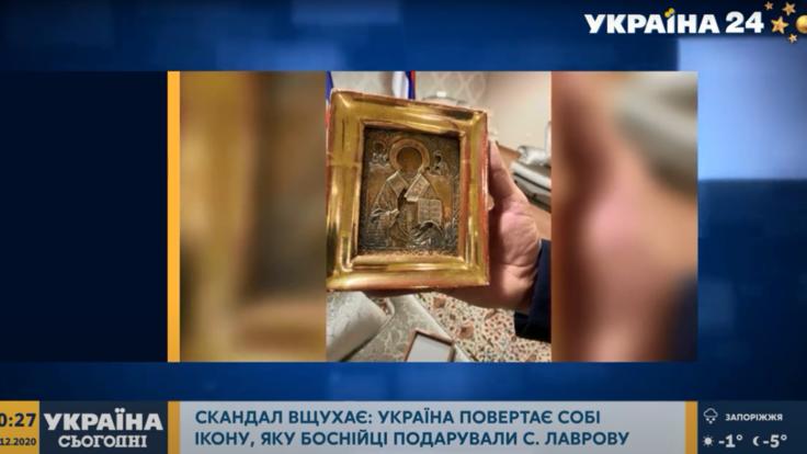 Икона из ОРДЛО: скандал с украденной украинской реликвией получил продолжение