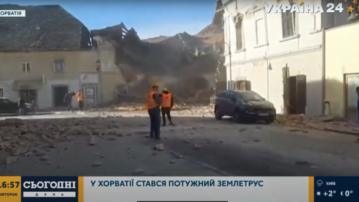 В Хорватии произошло разрушительное землетрясение: подробности от МИД Украины