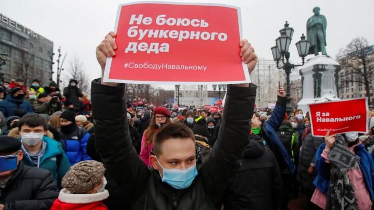 """""""Росія прокинулася"""": відома актриса про протести прихильників Навального"""