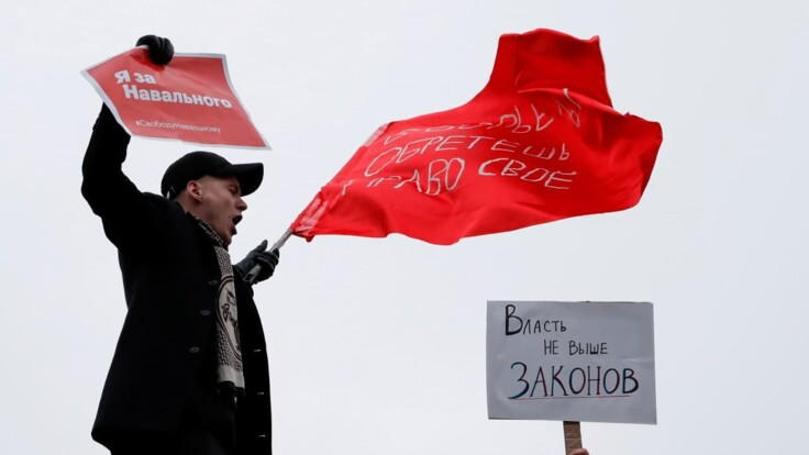 До революции далеко, но уже проснулись — журналист о протестах за Навального в России