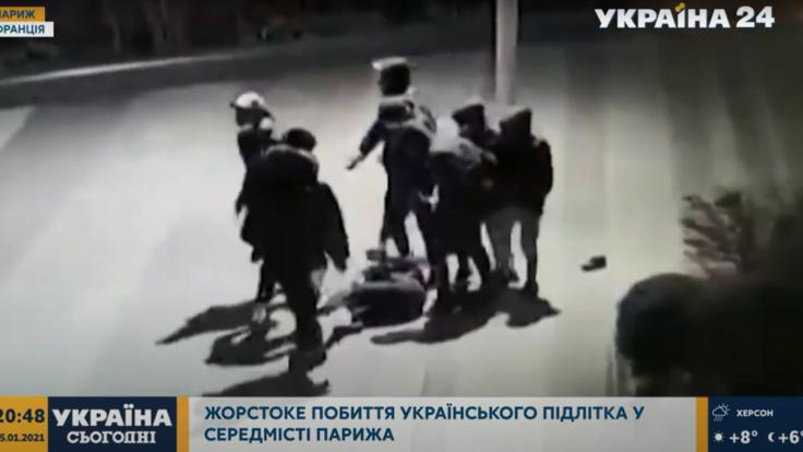 Звіряче побиття українського підлітка в Парижі: з'явились нові подробиці