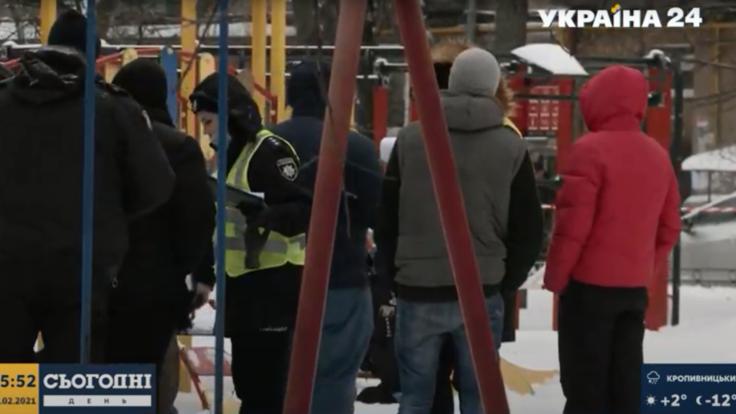 Мужчина взорвал себя на детской площадке в Киеве: подробности с места события