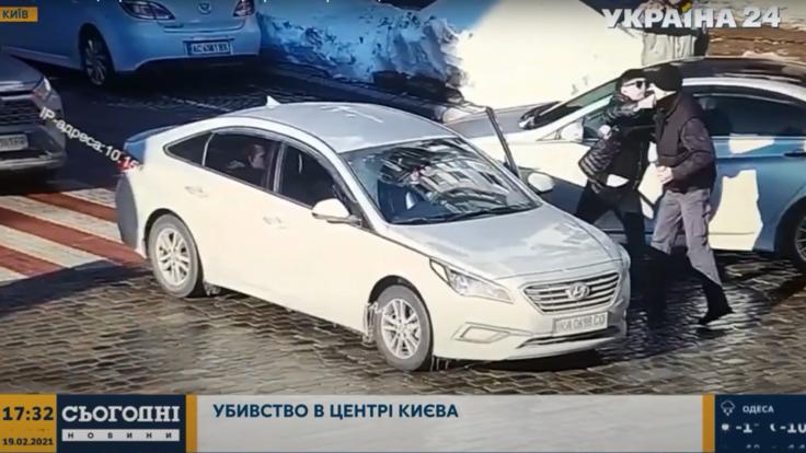 В центре Киева водитель убил пешехода ударом кулака: подробности и видео трагедии